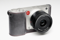 Protection cuir Leica T Stone grey